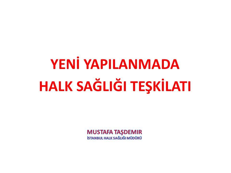 Mustafa taşdemir İstanbul halk sağlIğI müdürü