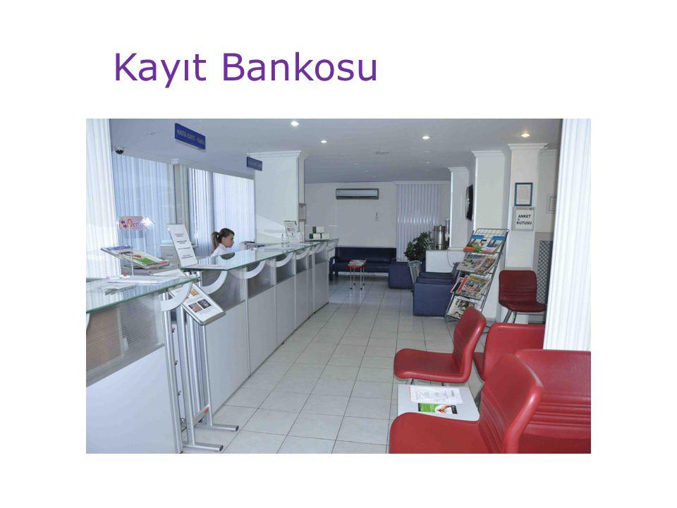 Kayıt Bankosu
