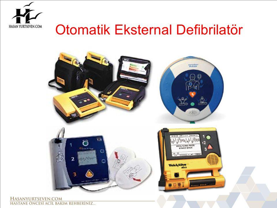 Otomatik Eksternal Defibrilatör