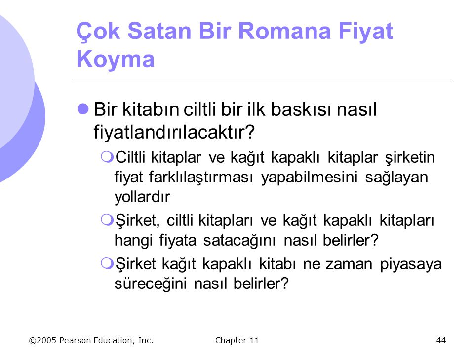 Çok Satan Bir Romana Fiyat Koyma