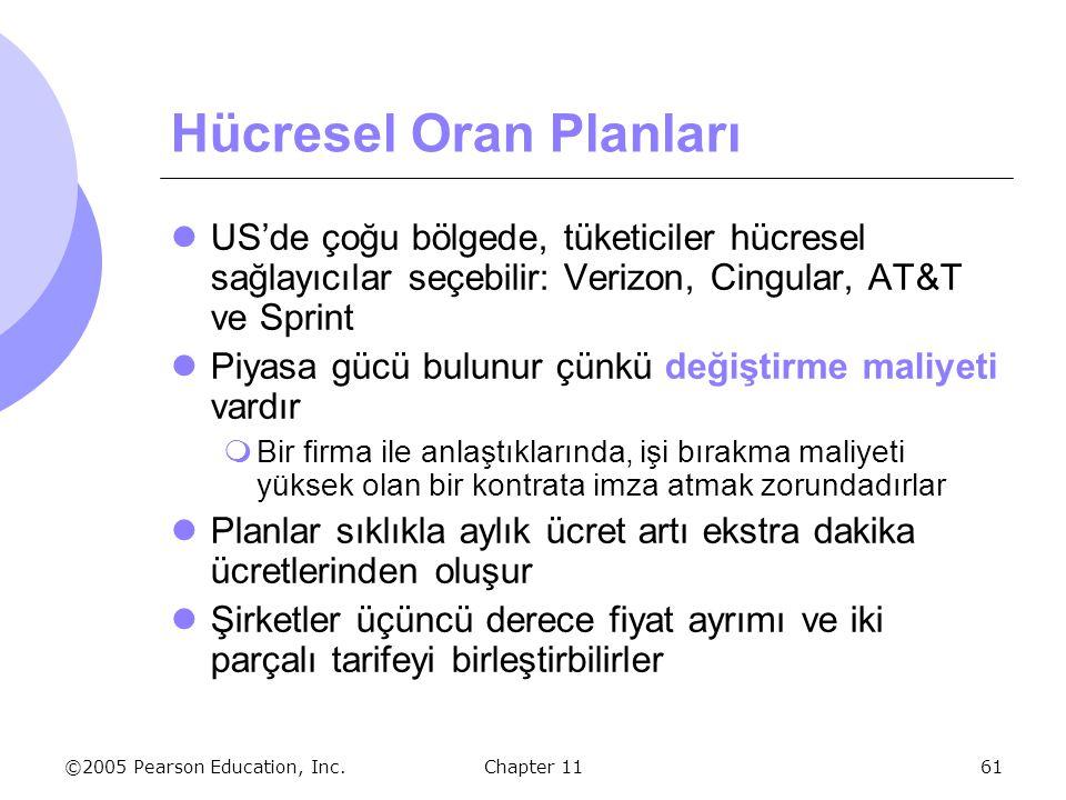 Hücresel Oran Planları