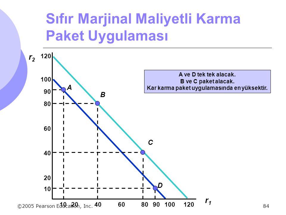 Sıfır Marjinal Maliyetli Karma Paket Uygulaması