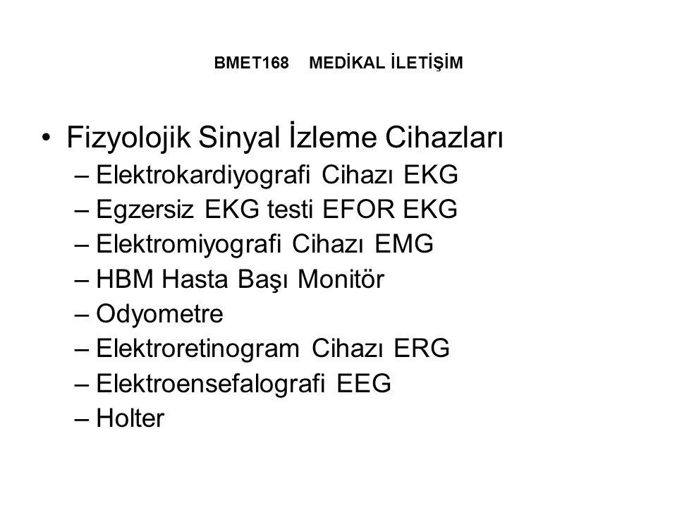 Fizyolojik Sinyal İzleme Cihazları