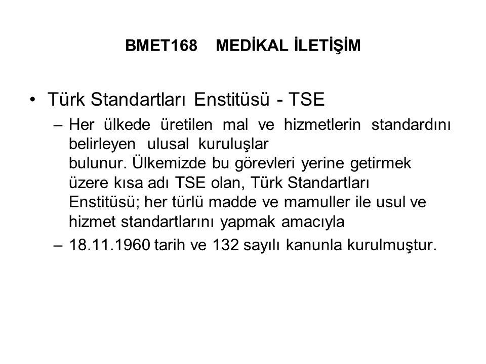 Türk Standartları Enstitüsü - TSE