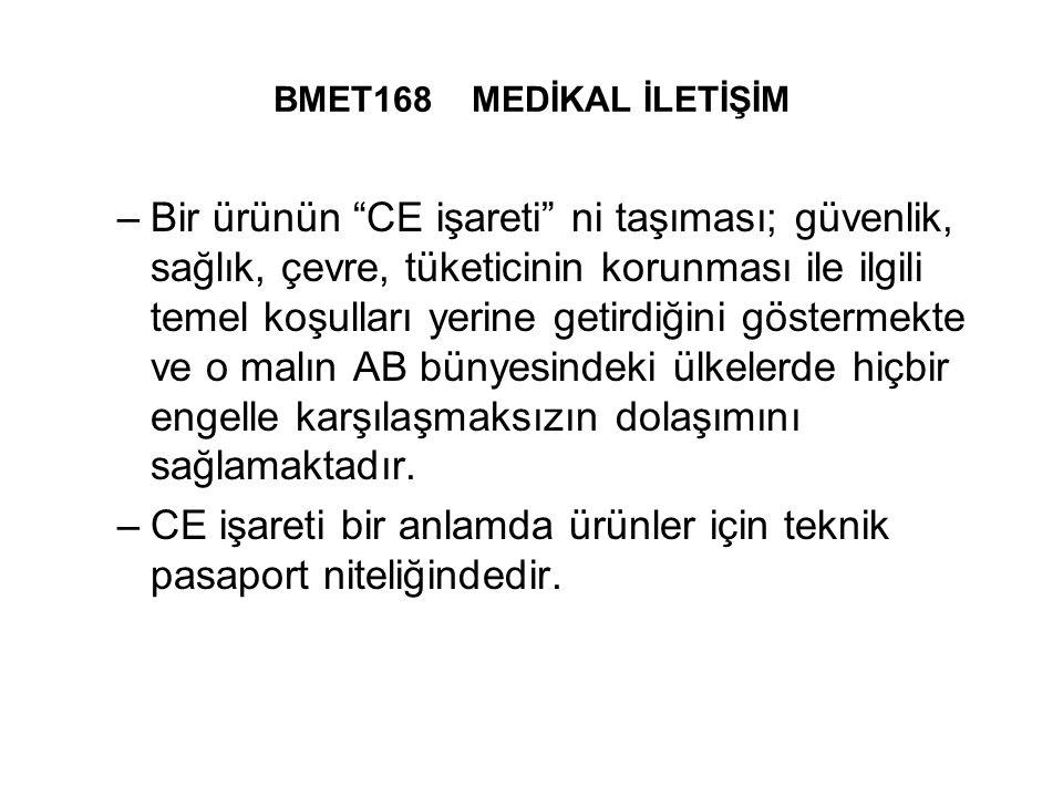 CE işareti bir anlamda ürünler için teknik pasaport niteliğindedir.