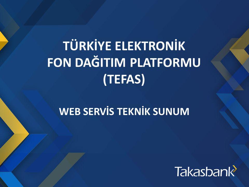 WEB SERVİS TEKNİK SUNUM