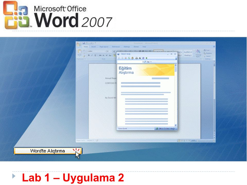 Lab 1 – Uygulama 2