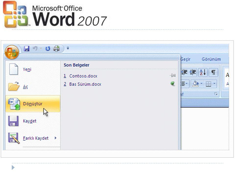 Dosyalarınız yeni dosya biçimine nasıl dönüştürülür.