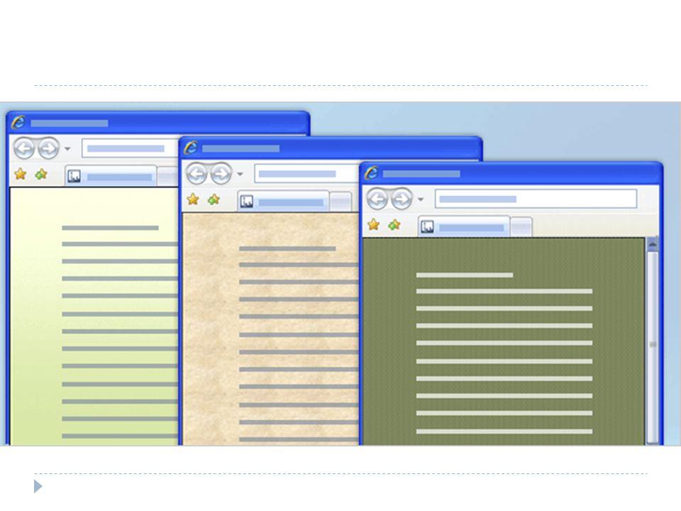 Web belgelerine keskin hatlar ve zenginlik katmak için, buradaki örneklerde gösterildiği gibi renkli bir arka plan kullanın. Düz veya gradyan renkler, dokular, desenler ve resimler kullanılabilir arka planlar arasında yer alır.