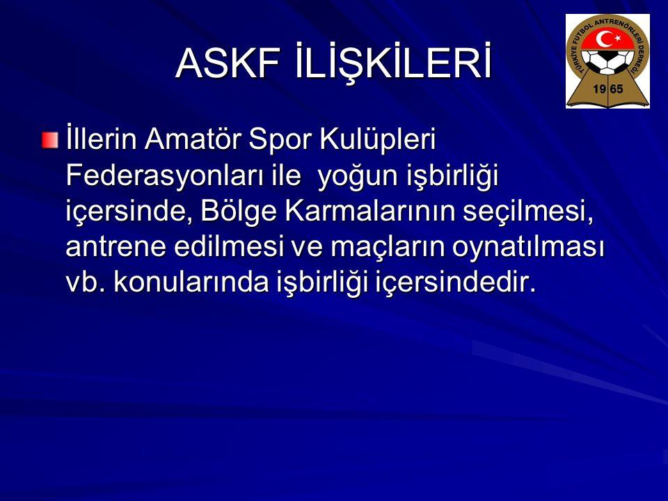 ASKF İLİŞKİLERİ