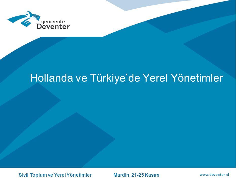 Hollanda ve Türkiye'de Yerel Yönetimler