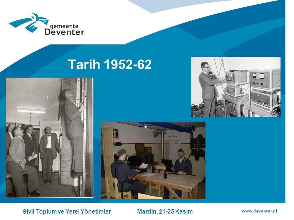 Tarih 1952-62 Sivil Toplum ve Yerel Yönetimler Mardin, 21-25 Kasım