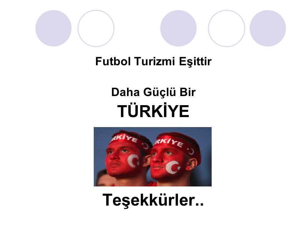 Futbol Turizmi Eşittir