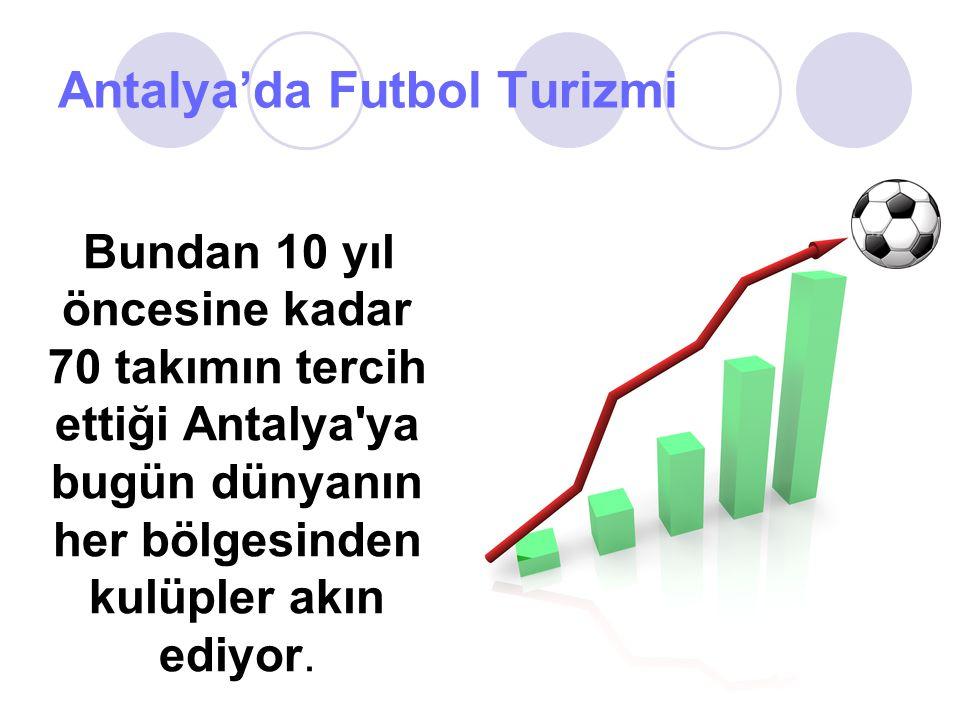 Antalya'da Futbol Turizmi