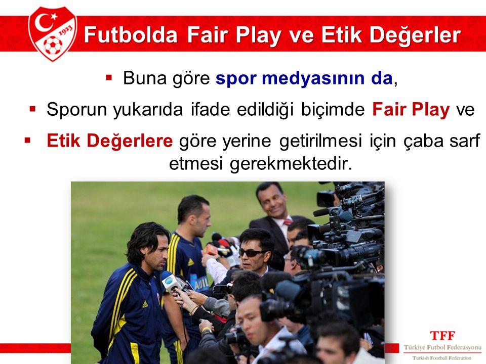 Futbolda Fair Play ve Etik Değerler