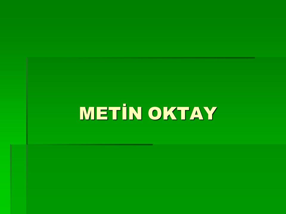 METİN OKTAY