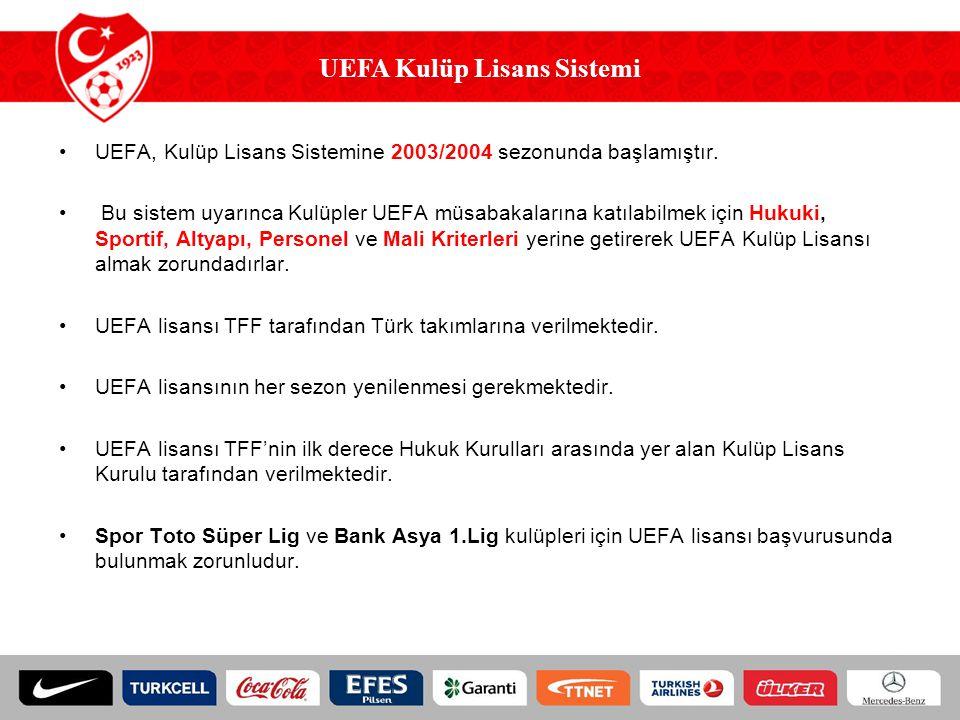 UEFA Kulüp Lisans Sistemi
