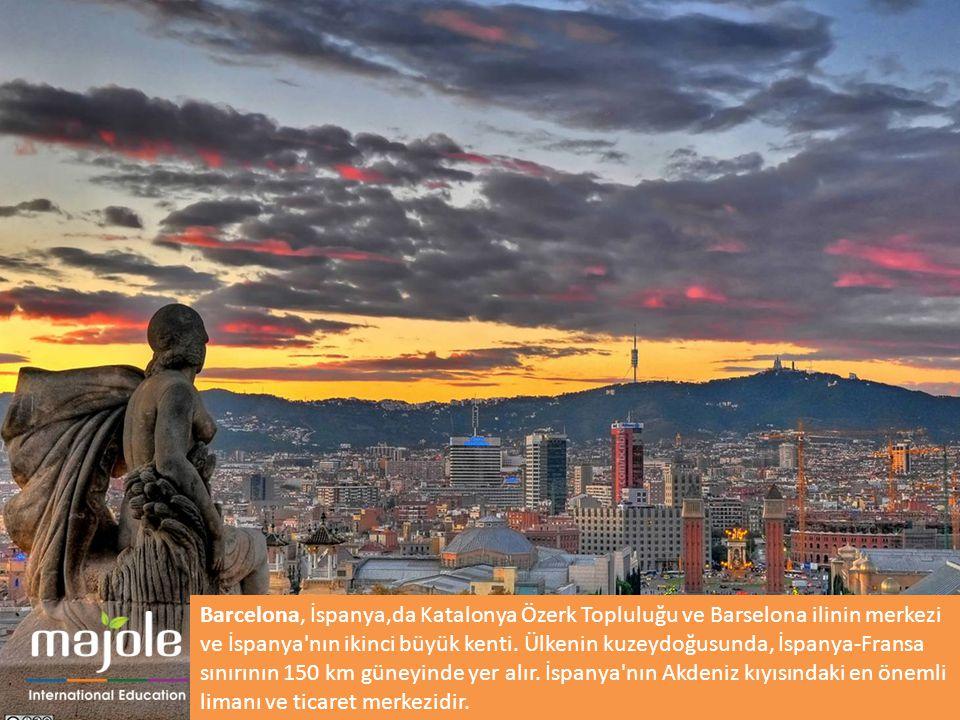 Barcelona, İspanya,da Katalonya Özerk Topluluğu ve Barselona ilinin merkezi ve İspanya nın ikinci büyük kenti.