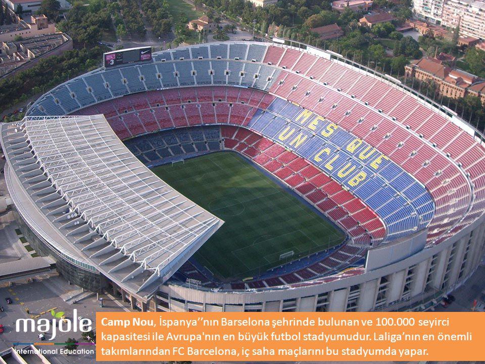 Camp Nou, İspanya''nın Barselona şehrinde bulunan ve 100