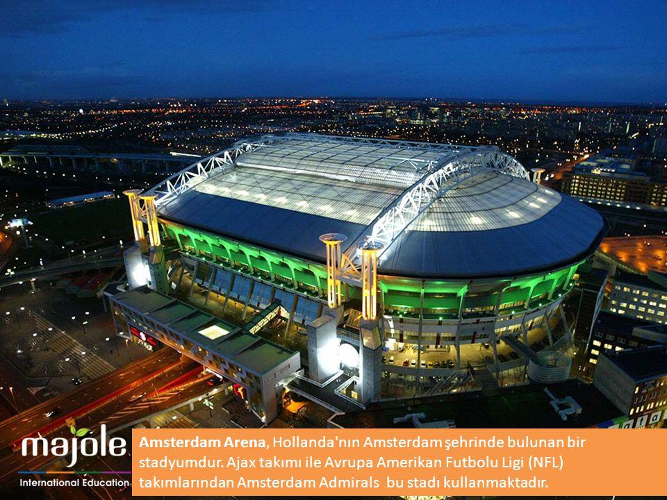 Amsterdam Arena, Hollanda nın Amsterdam şehrinde bulunan bir stadyumdur.
