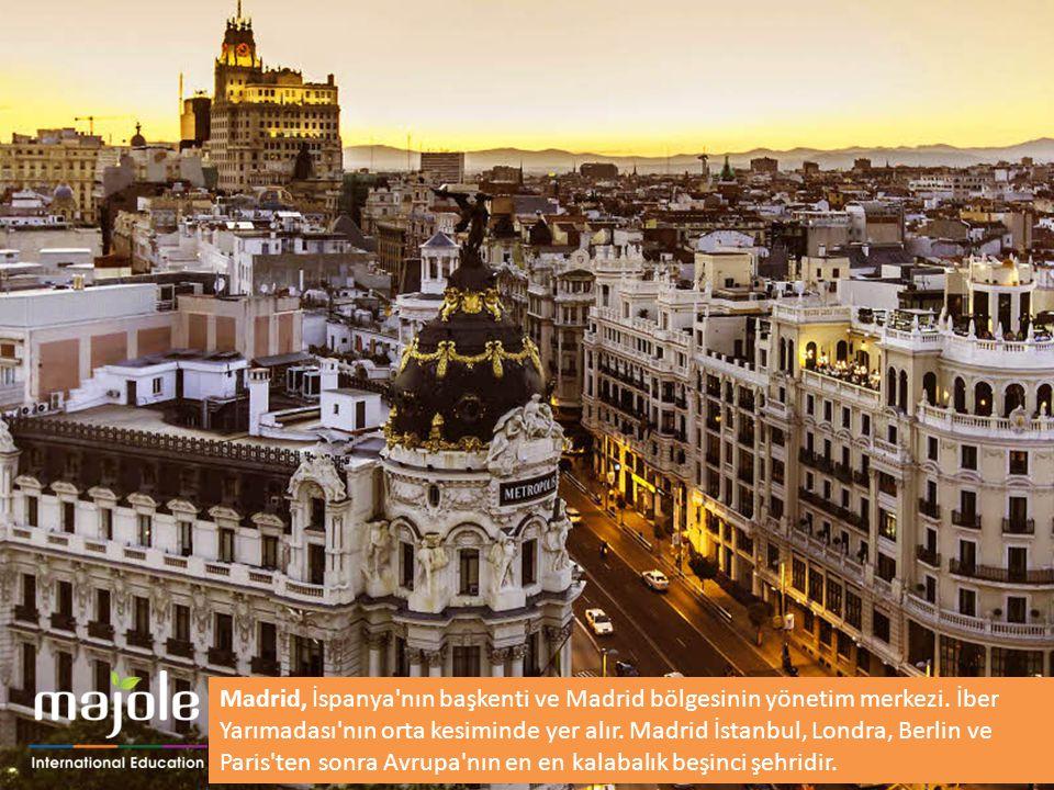 Madrid, İspanya nın başkenti ve Madrid bölgesinin yönetim merkezi