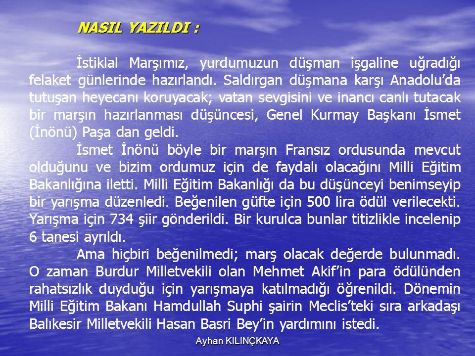 NASIL YAZILDI :