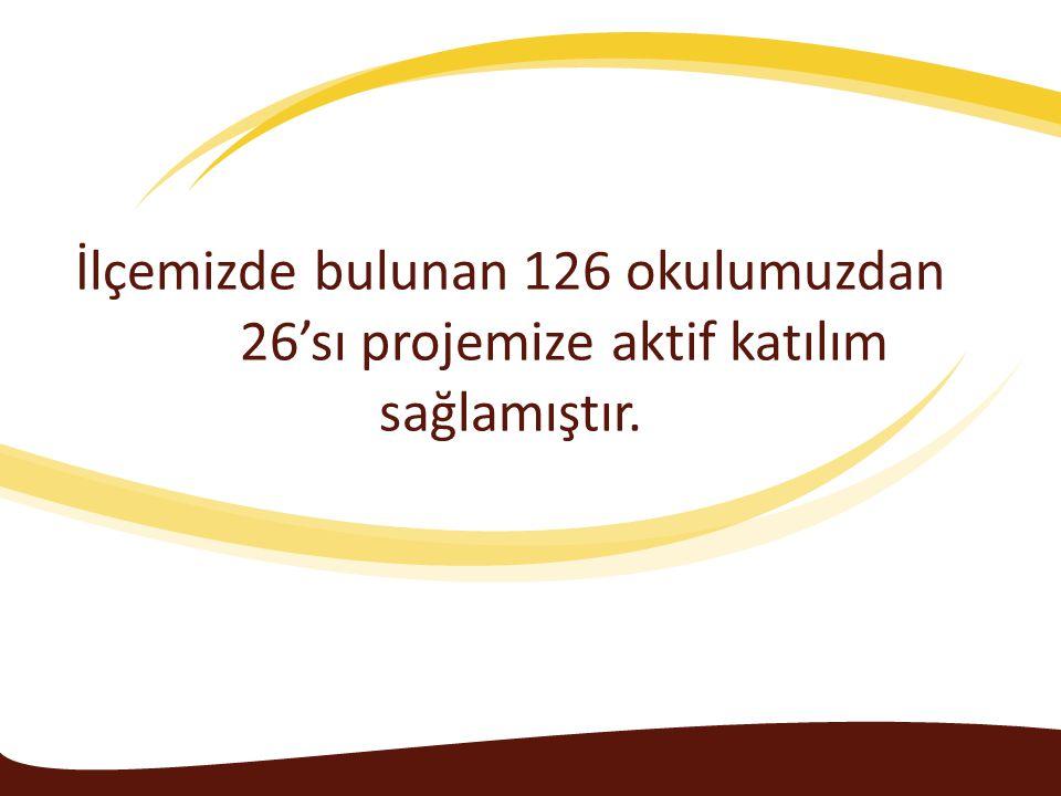 İlçemizde bulunan 126 okulumuzdan