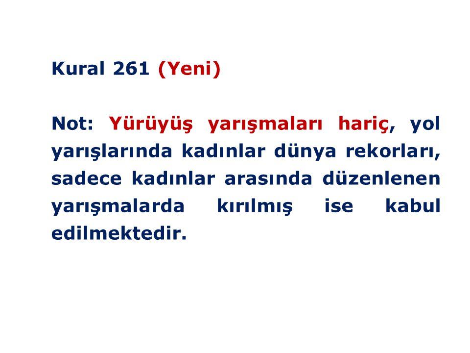 Kural 261 (Yeni)
