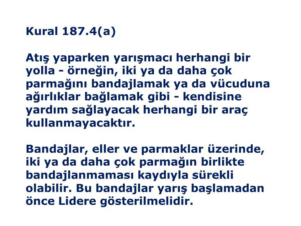 Kural 187.4(a)