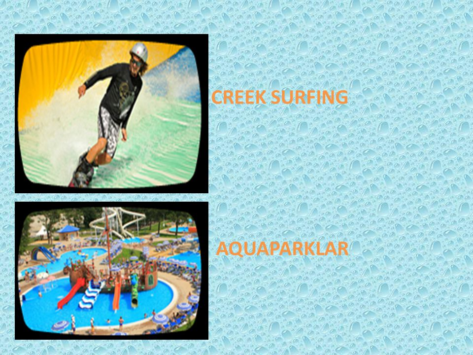 CREEK SURFING AQUAPARKLAR