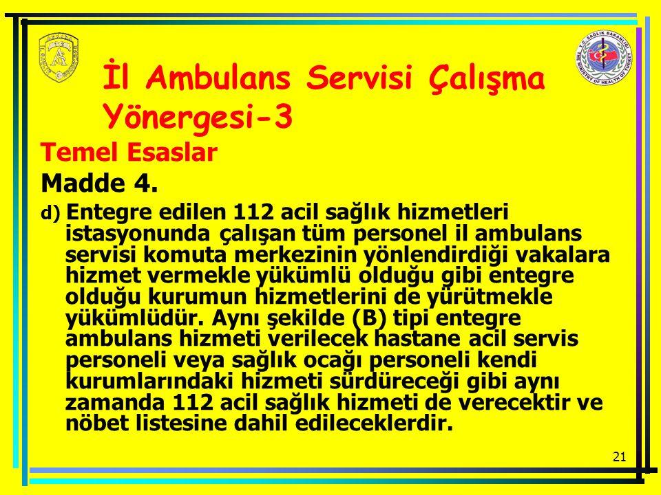 İl Ambulans Servisi Çalışma Yönergesi-3