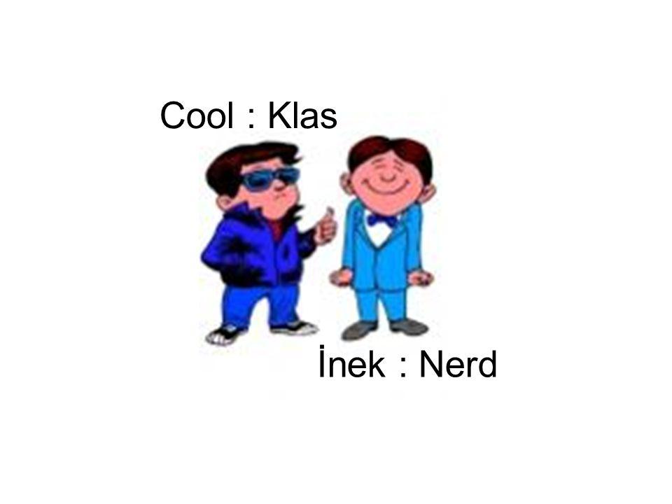 Cool : Klas İnek : Nerd