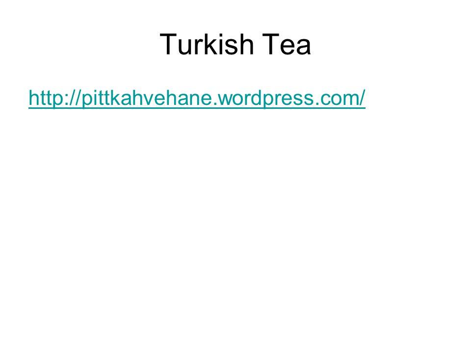 Turkish Tea http://pittkahvehane.wordpress.com/
