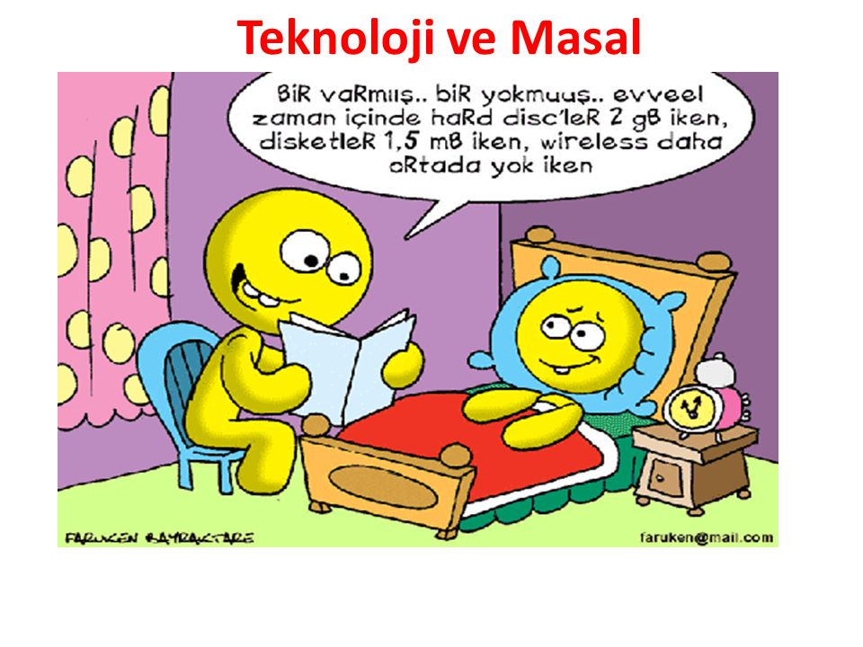 Teknoloji ve Masal