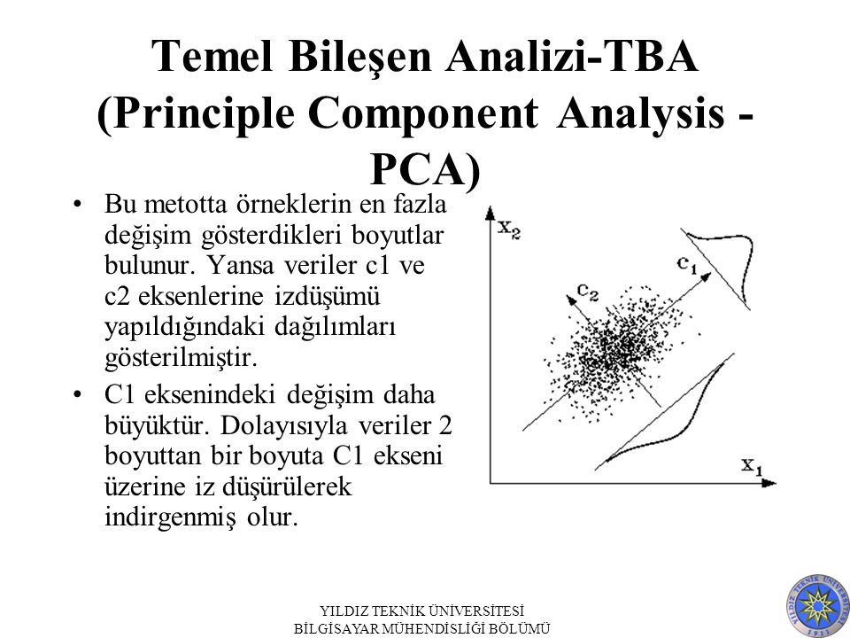 Temel Bileşen Analizi-TBA (Principle Component Analysis - PCA)