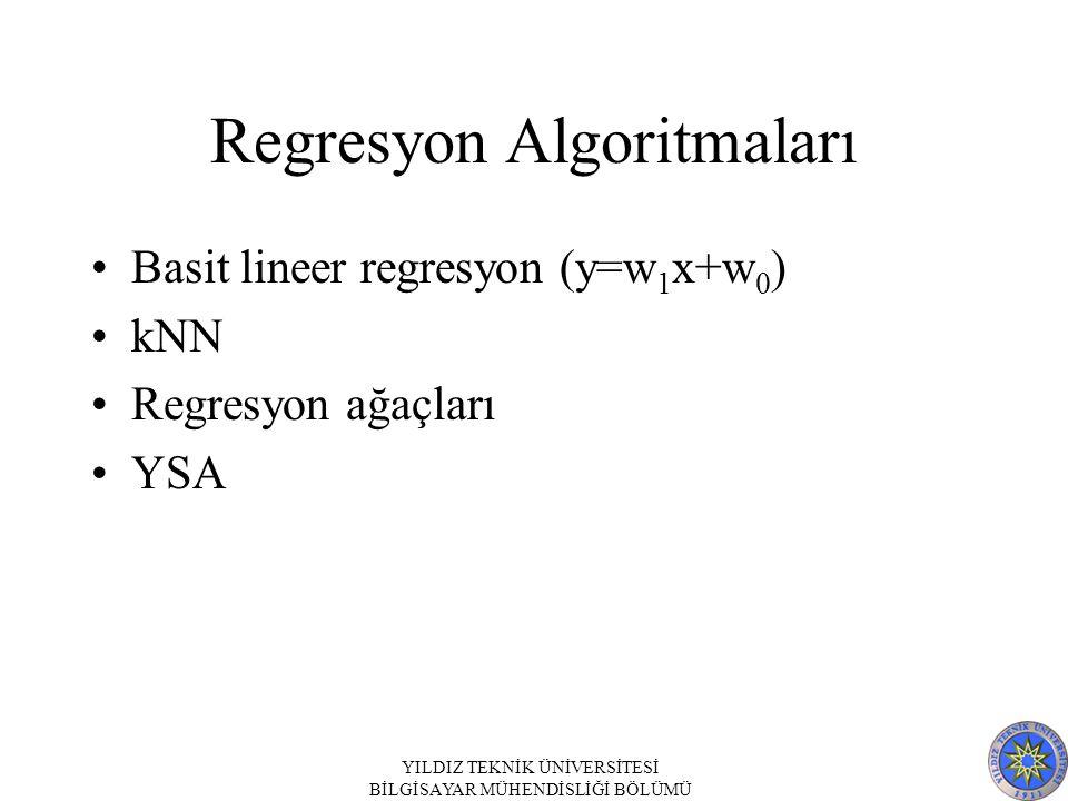 Regresyon Algoritmaları