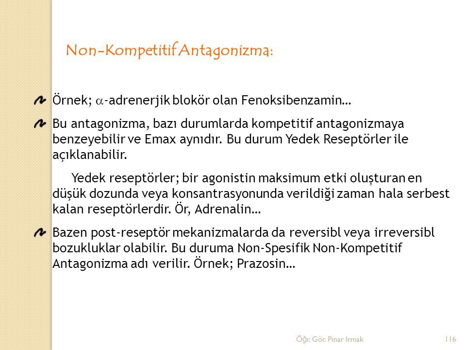 Non-Kompetitif Antagonizma: