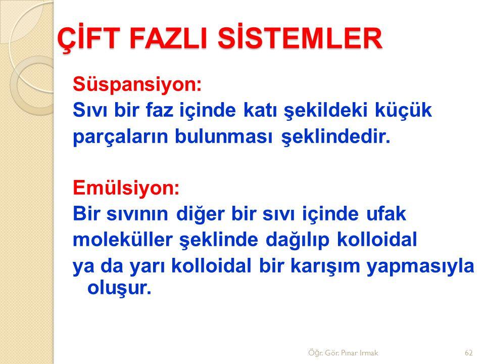 ÇİFT FAZLI SİSTEMLER