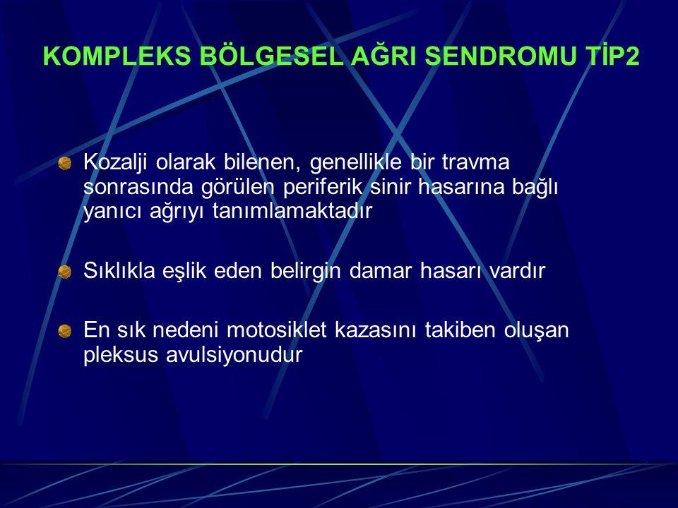 KOMPLEKS BÖLGESEL AĞRI SENDROMU TİP2