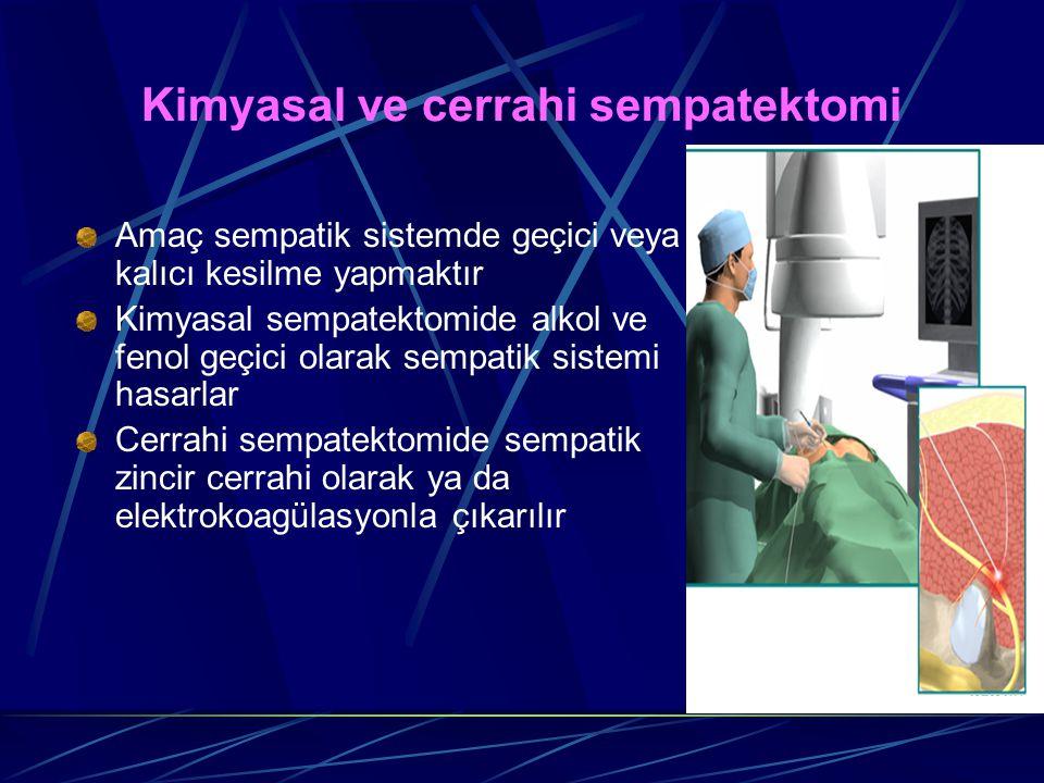 Kimyasal ve cerrahi sempatektomi