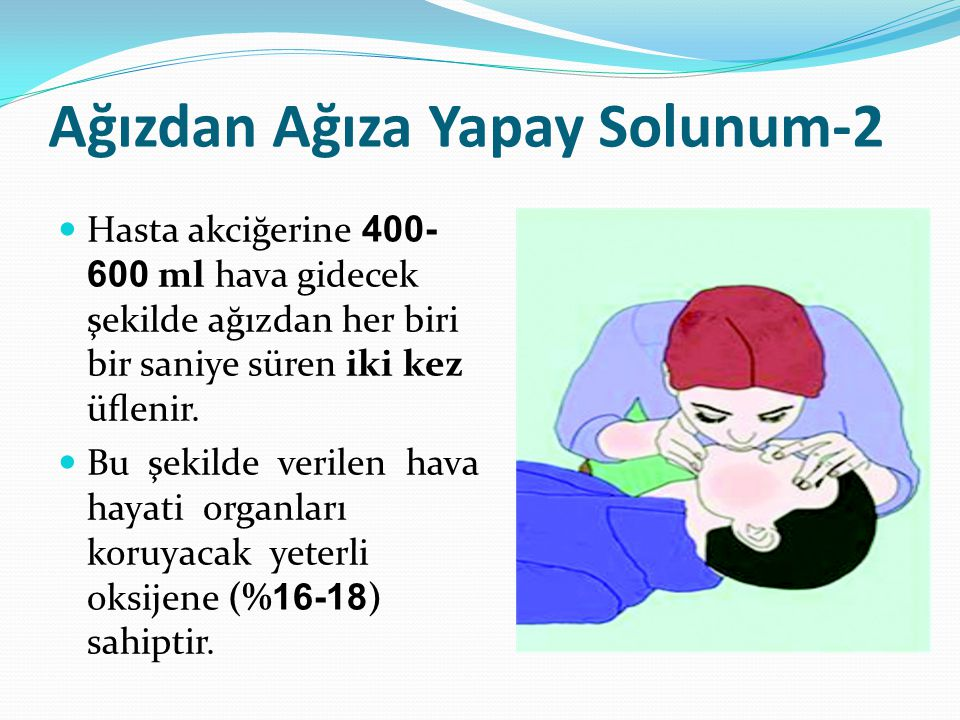 Ağızdan Ağıza Yapay Solunum-2