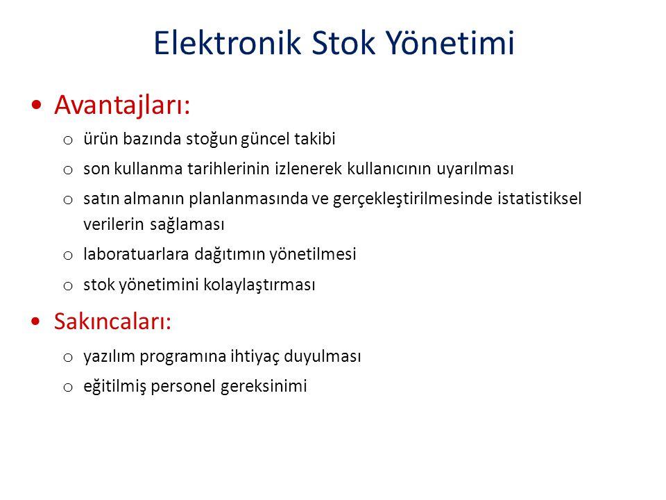 Elektronik Stok Yönetimi