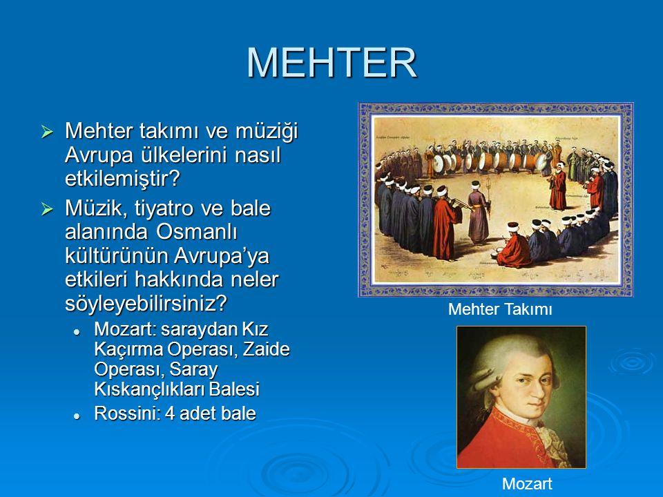 MEHTER Mehter takımı ve müziği Avrupa ülkelerini nasıl etkilemiştir