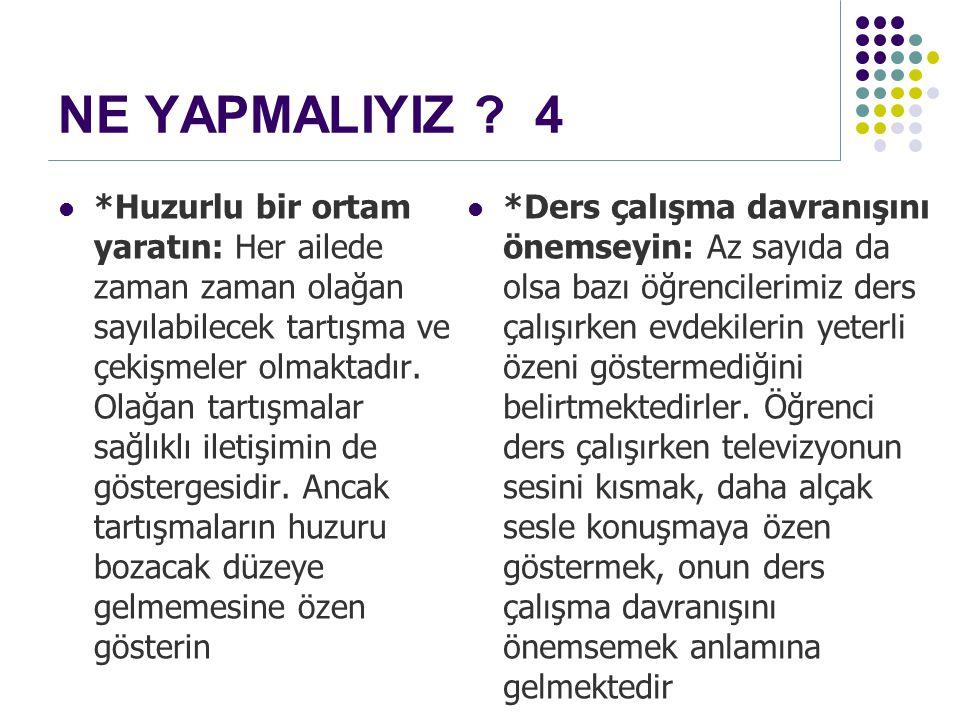 NE YAPMALIYIZ 4