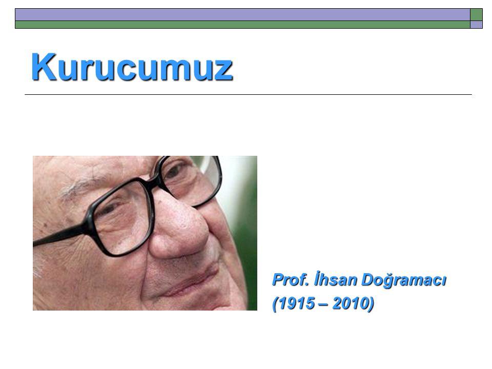 Kurucumuz Prof. İhsan Doğramacı (1915 – 2010)