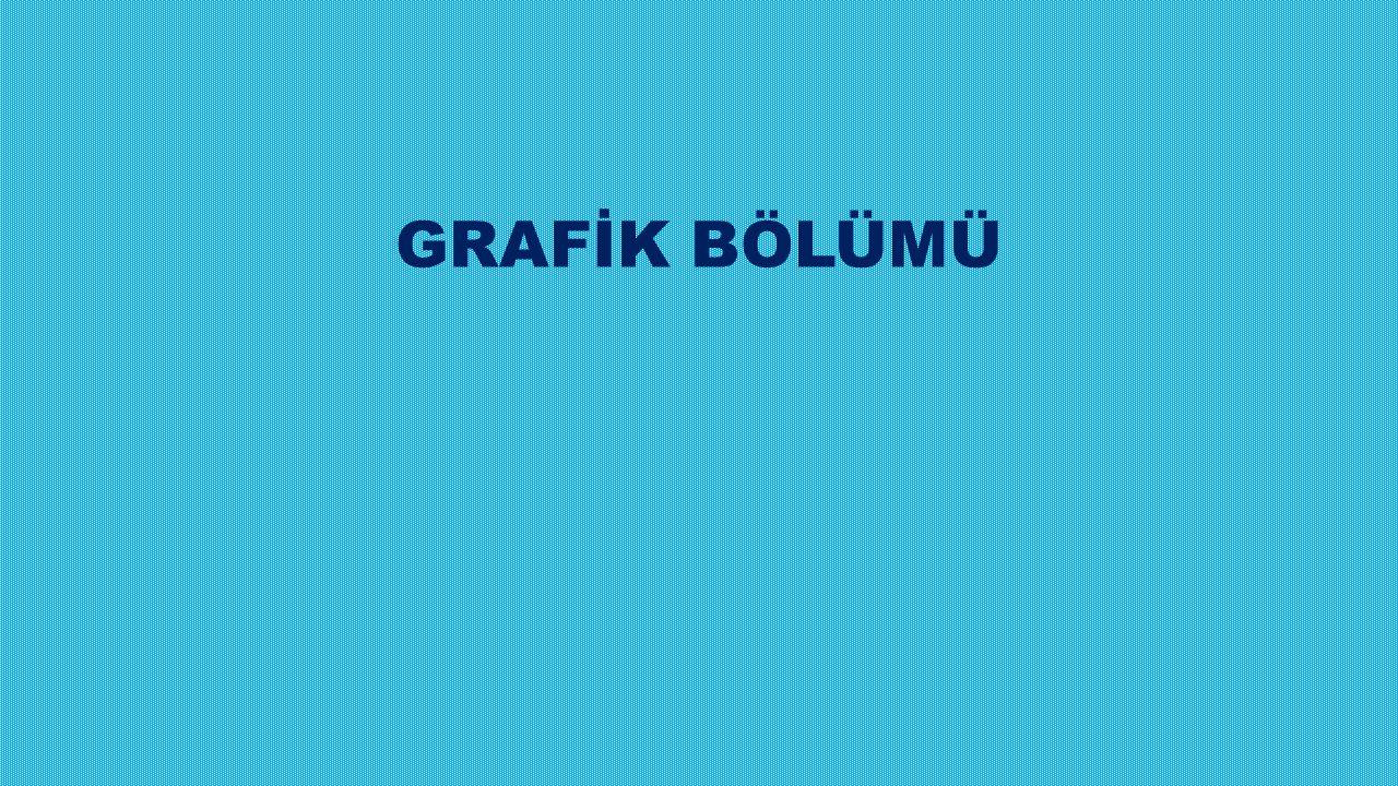 GRAFİK BÖLÜMÜ