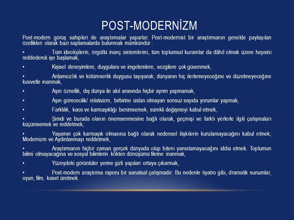 Post-modernİzm