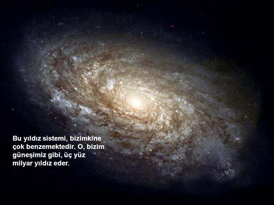 Bu yıldız sistemi, bizimkine çok benzemektedir