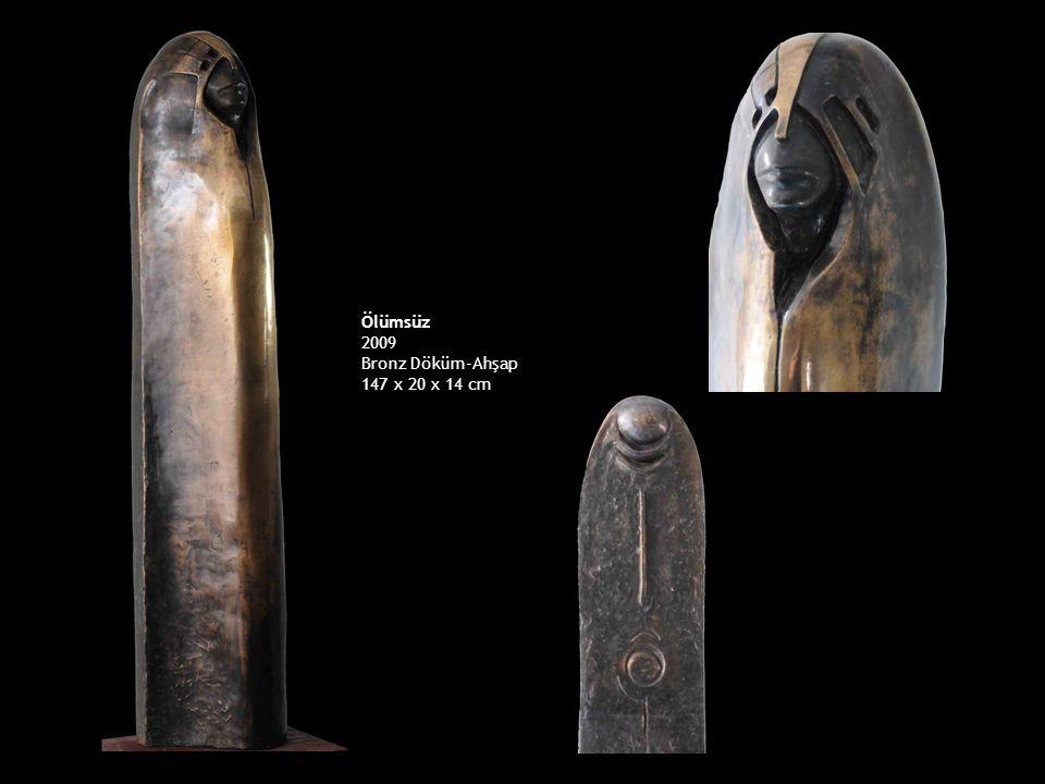 Ölümsüz 2009 Bronz Döküm-Ahşap