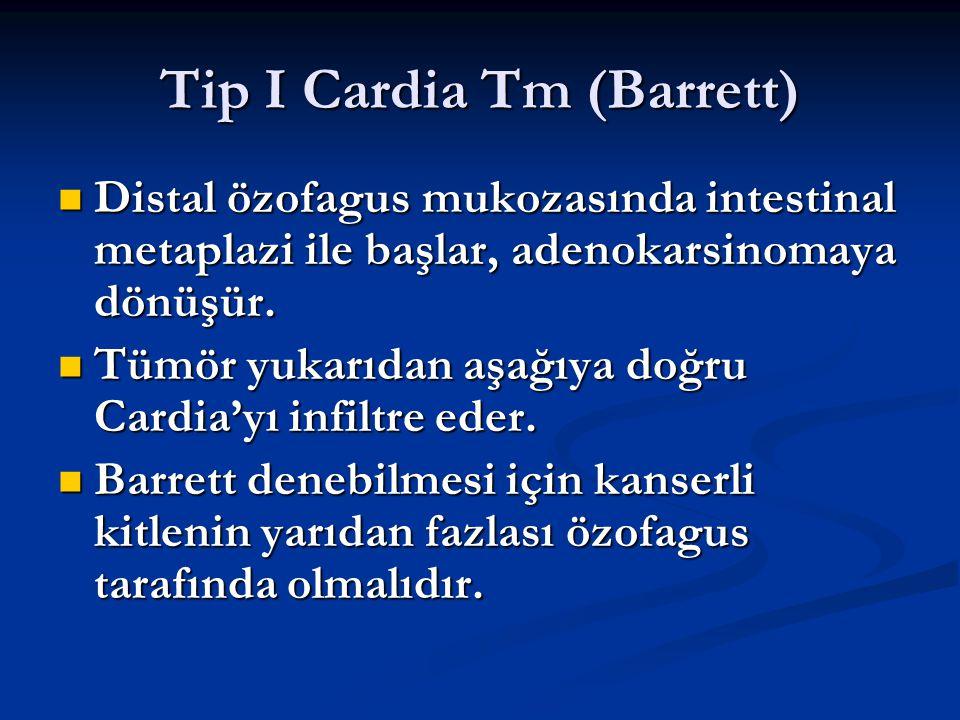 Tip I Cardia Tm (Barrett)